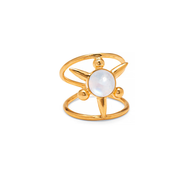 Astraea Ring in Gold