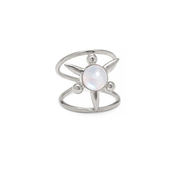 Astraea Ring in Silver