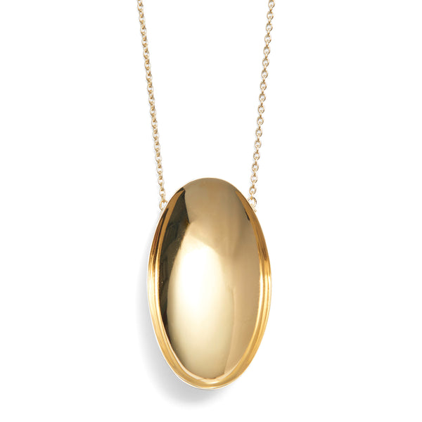 Basin Necklace in Gold
