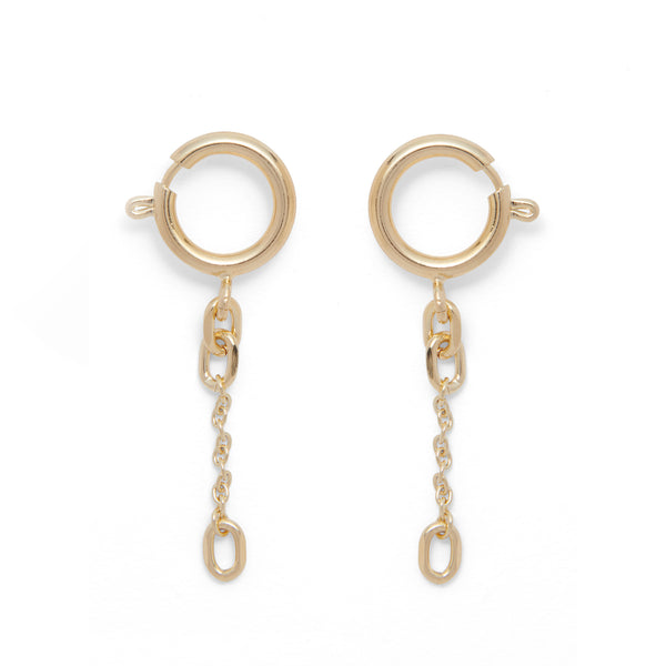 Clasp Earring in Gold