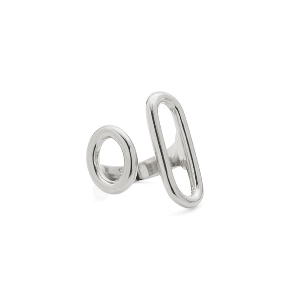 Disconnect Ring in Rhodium