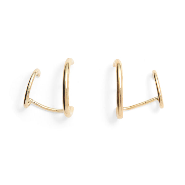 Duo Ear Cuff in Gold