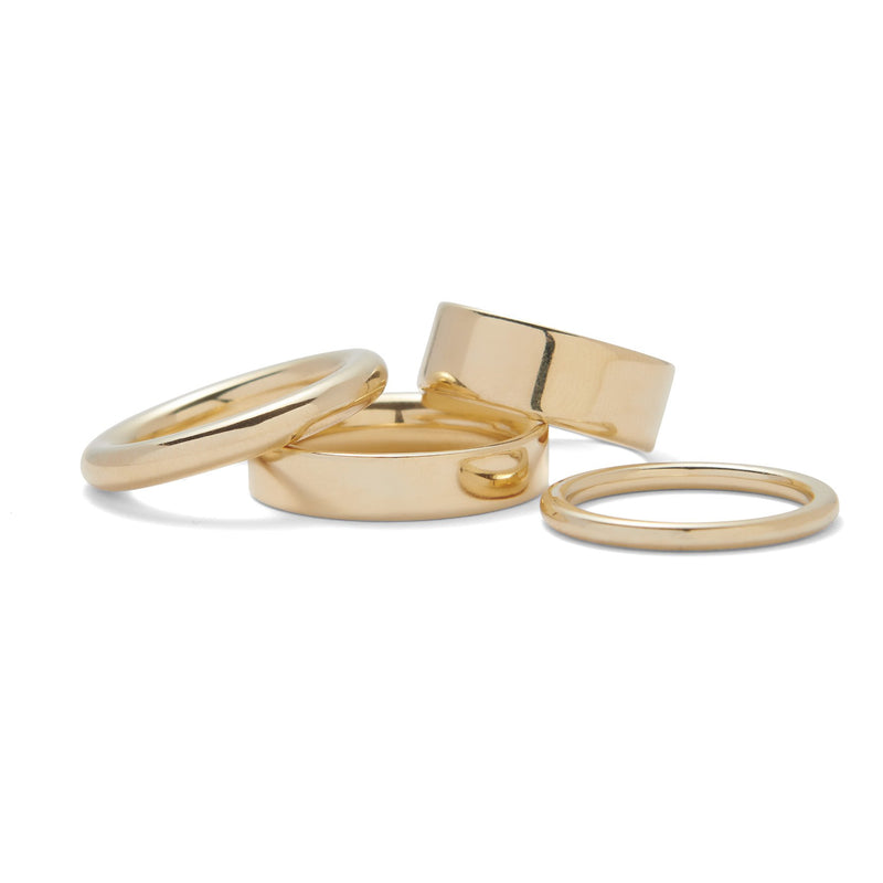 Lady Grey Jewelry Essential Ring Set in Gold