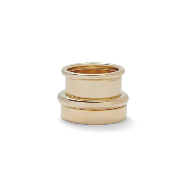 Essential Ring Set in Gold