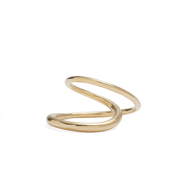 Infinite Ring in Gold