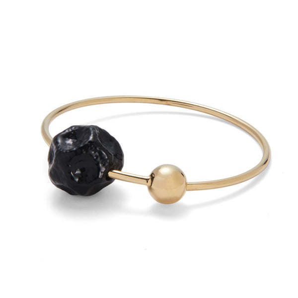 Ohr Bangle in Gold