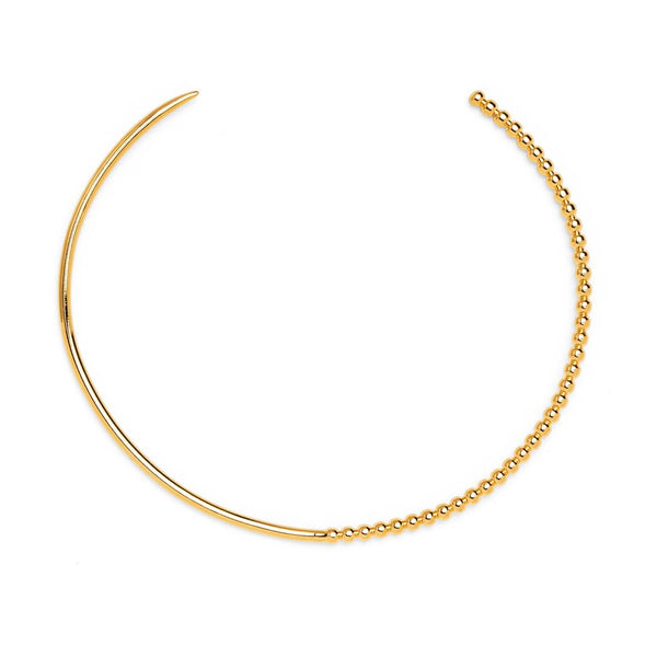 Ophidia Collar in Gold
