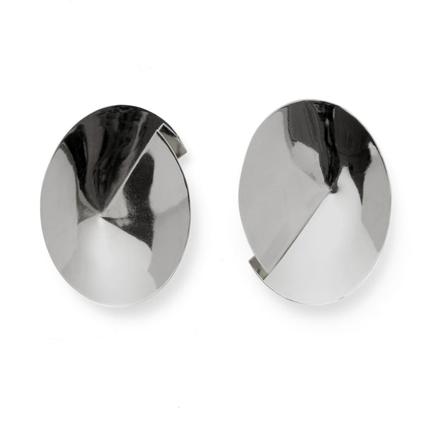 Ori Earring in Rhodium