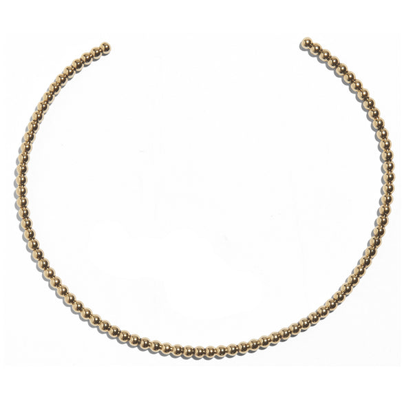 Pearled Collar in Gold