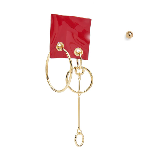 Phantom Earring in Red
