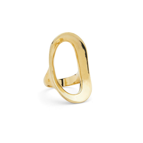 Rink Ring in Gold