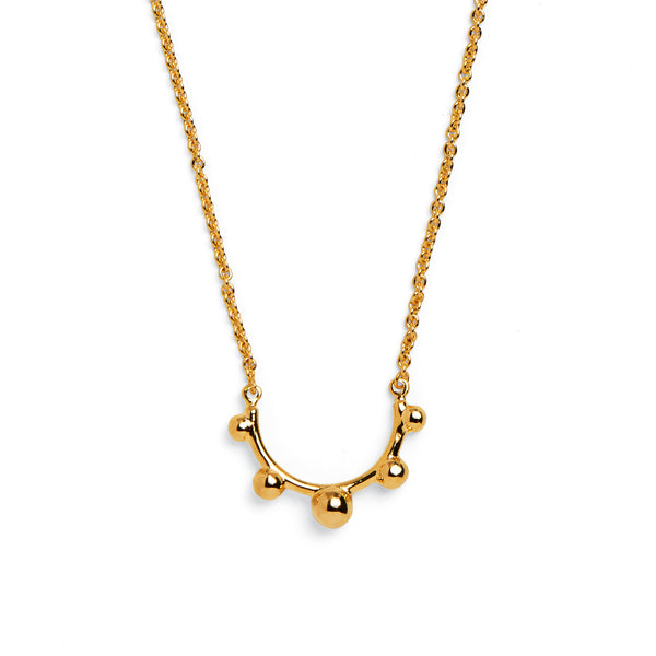 Rise Necklace in Gold