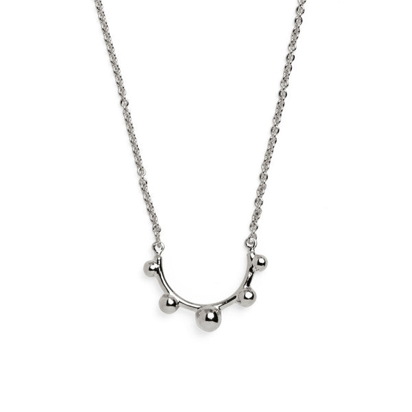 Rise Necklace in Silver
