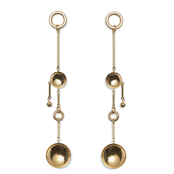 Sequence Earring in Gold
