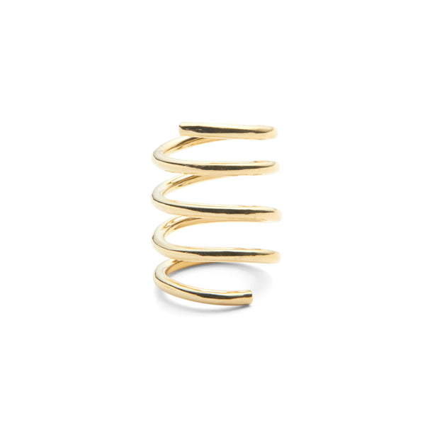 Spiral Ring in Gold
