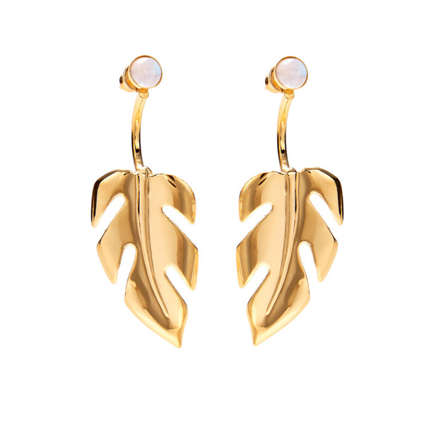 Stera Ear Jacket in Gold