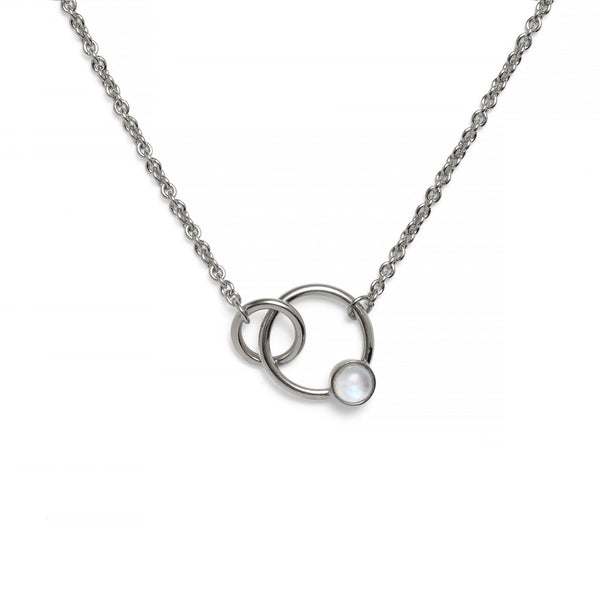 Torsion Necklace in Silver