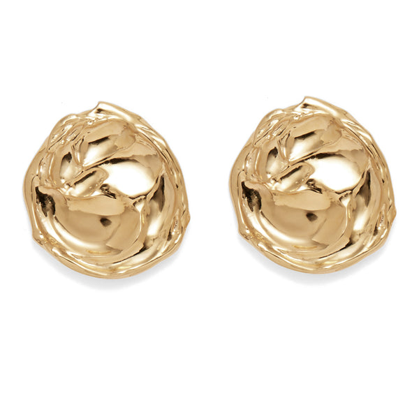 i crystal shiny tradesy lady gold rose earrings