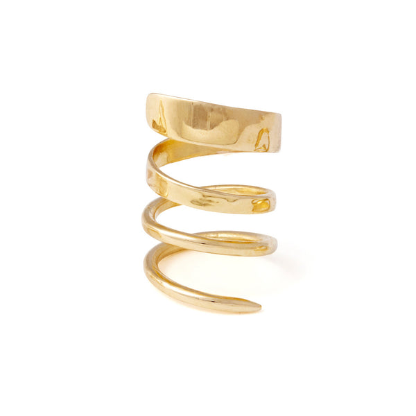 Ribbon Ring in Gold