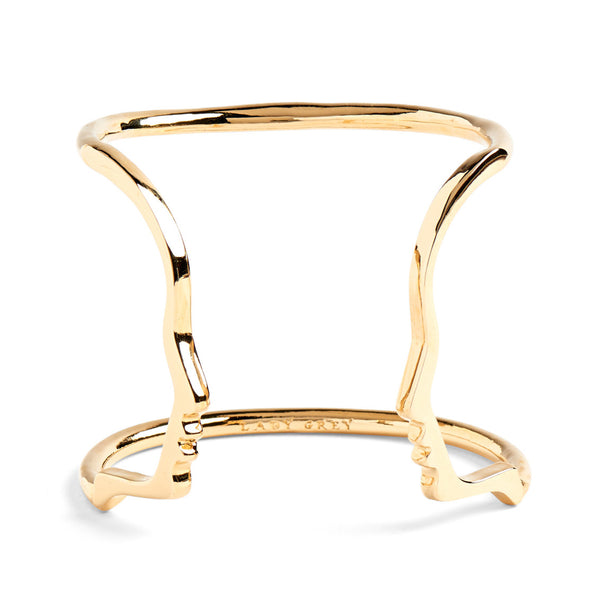 Silhouette Cuff in Gold