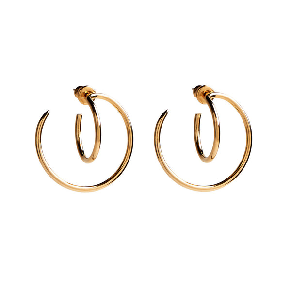 Small Torsion Hoops in Gold