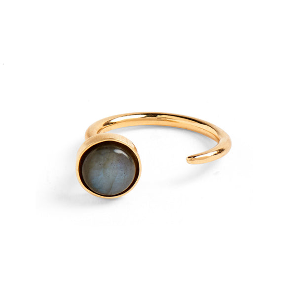 Tangent Ring in Gold