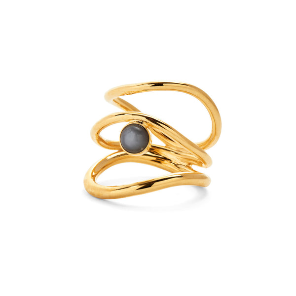 Tide Ring in Gold