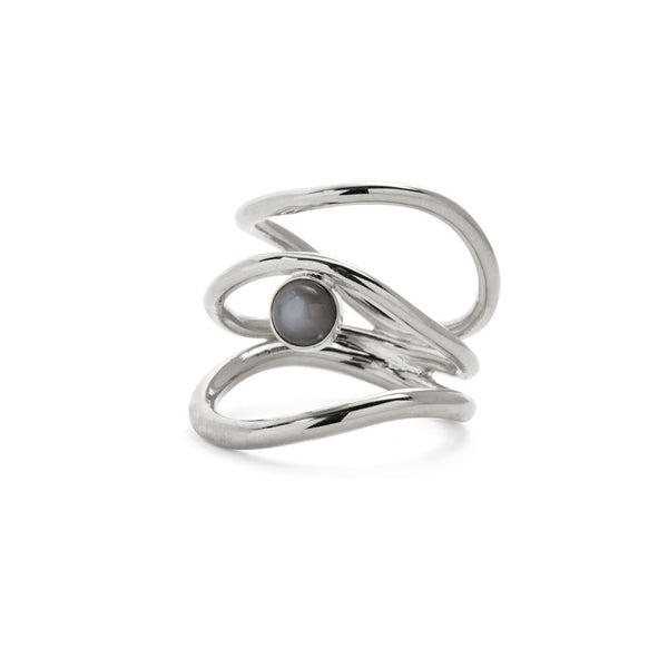 Tide Ring in Silver