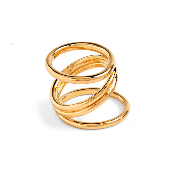 Wrap Ring in Gold