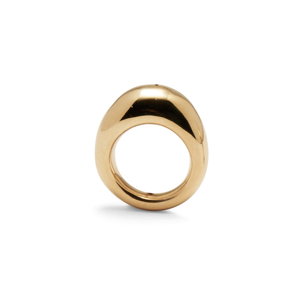 Organic Ring in Gold
