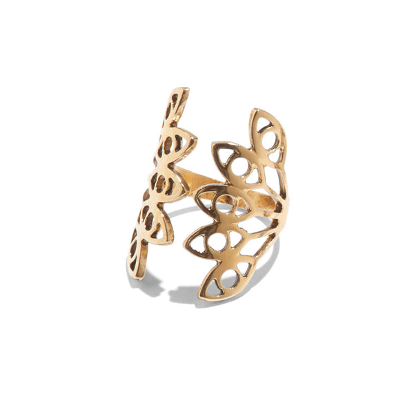 Hydra Ring in Gold