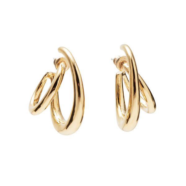 Roam Earrings in Gold
