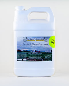 De-Lice & Manage Concentrate 1 gal