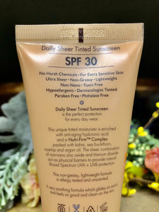 Daily Sheer Tinted Sunscreen (SPF 30)