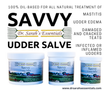 Load image into Gallery viewer, Savvy Udder Salve