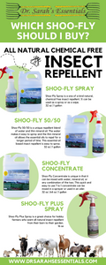 Shoo-Fly Spray Insect Repellent