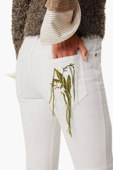 All Ober Embroidery Pocket Pants
