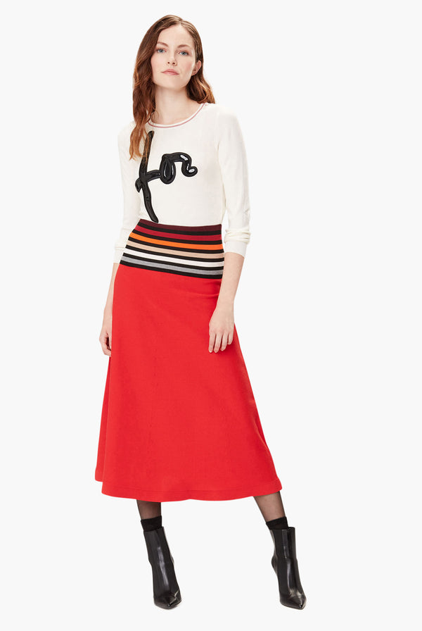 Rykiel Curved Sweater