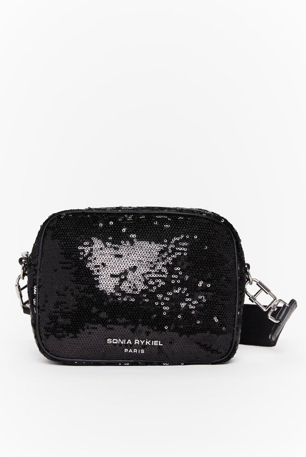 Sequined Forever Camera Bag