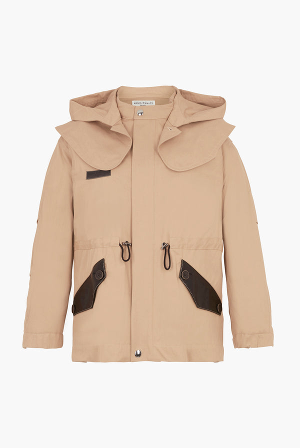 High Collar Parka