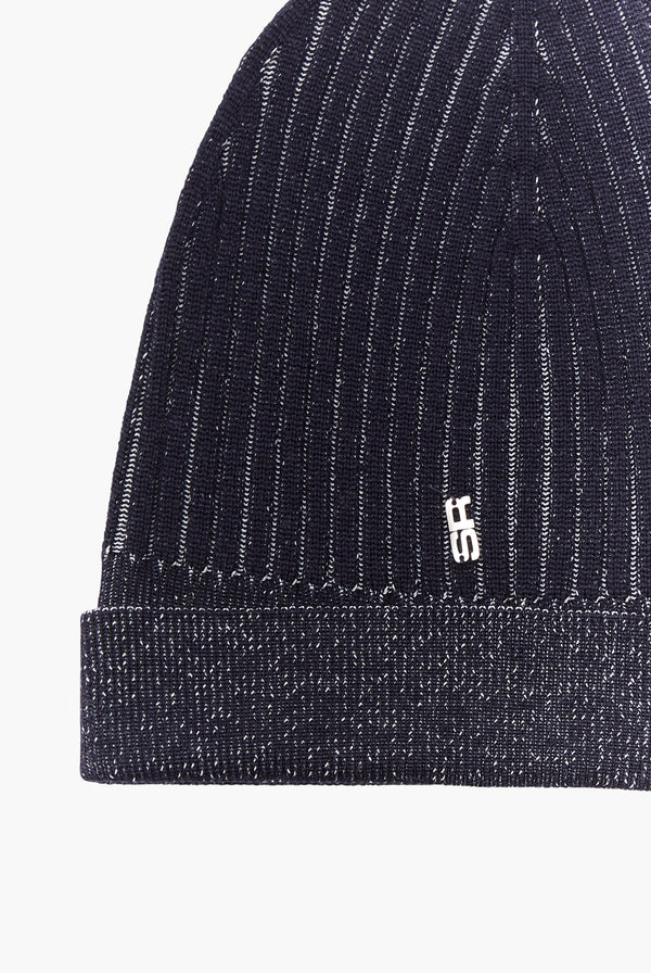 Black Lurex Hat