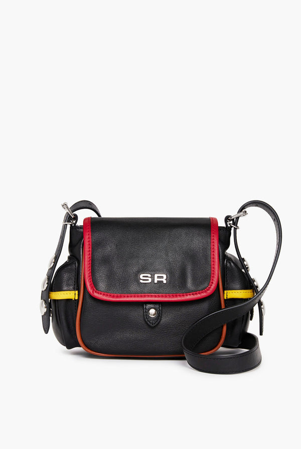 Luxembourg Multicoloured Leather Messenger Bag