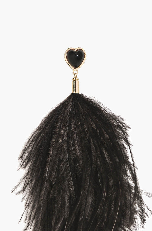 Black Feather Pins