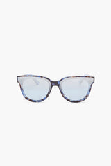 Butterfly Tortoiseshell Blue Sunglasses