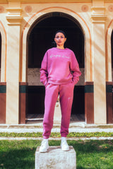 "Sweatshirt Fuchsia ""Sweat De Luxe"""