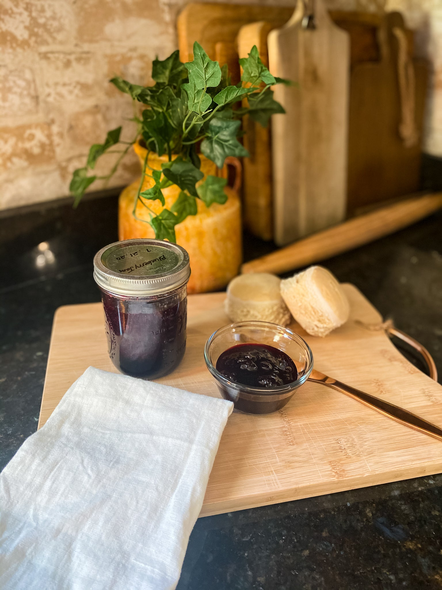 Make Today Eat Today Easy Blueberry Jam