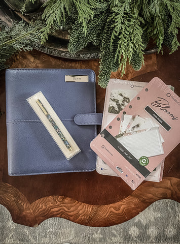 Franklin planner binder and accessories