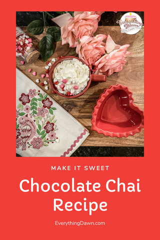 Chocolate Chai Recipe Pin It