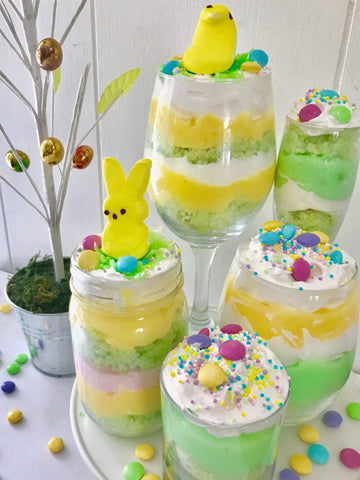 Easter Dessert Trifle Parfaits