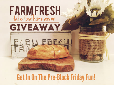 Farm Fresh Giveaway on Facebook
